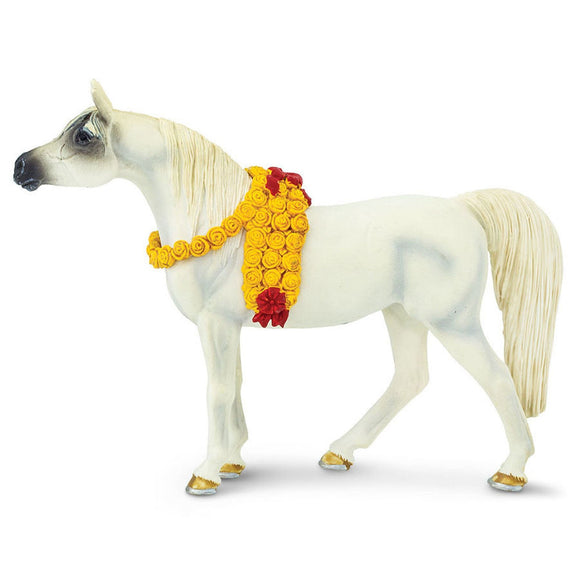 Safari Ltd White Arabian Mare-SAF159205-Animal Kingdoms Toy Store