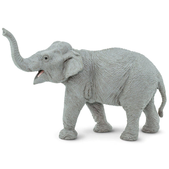 Safari Ltd Asian Elephant Large-SAF112389-Animal Kingdoms Toy Store