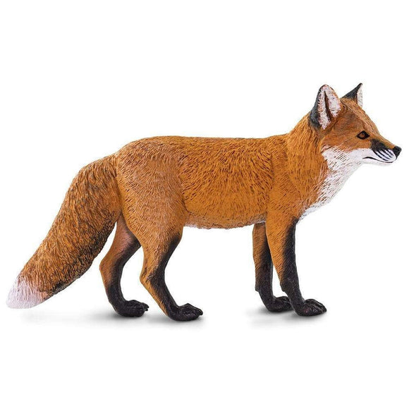 Safari Ltd Red Fox Large-SAF100361-Animal Kingdoms Toy Store