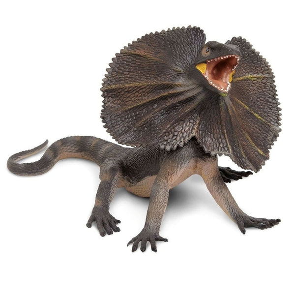 Safari Ltd Frilled Lizard-SAF260529-Animal Kingdoms Toy Store