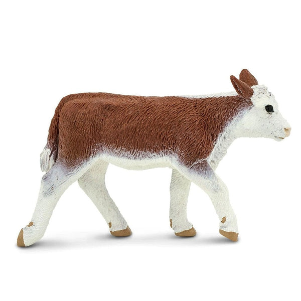 Safari Ltd Hereford Calf-SAF160129-Animal Kingdoms Toy Store