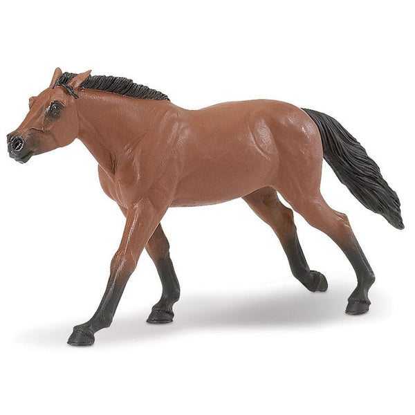 Safari Ltd Thoroughbred Stallion-SAF157705-Animal Kingdoms Toy Store