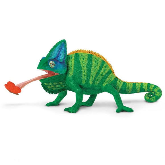 Safari Ltd Veiled Chameleon-SAF267829-Animal Kingdoms Toy Store
