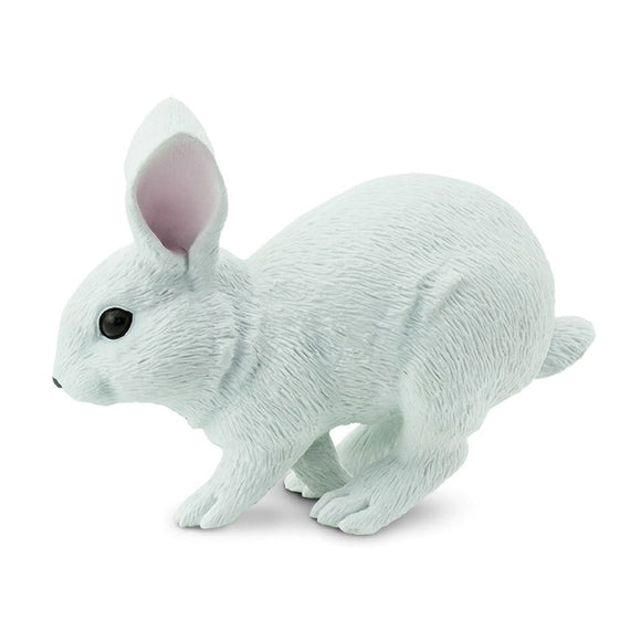 Safari Ltd White Bunny-SAF266629-Animal Kingdoms Toy Store