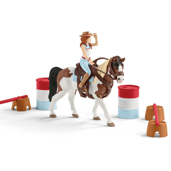 Schleich Hannah's western riding set - AnimalKingdoms.co.nz