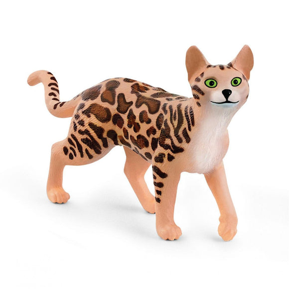 Schleich Bengal Cat-13918-Animal Kingdoms Toy Store