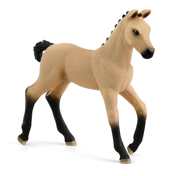 Schleich Hanoverian Foal Red Dun-13929-Animal Kingdoms Toy Store