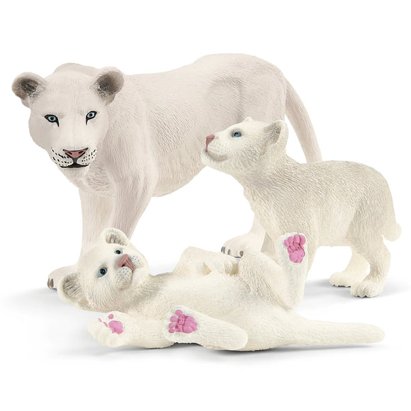 Schleich Lion Mother with Cubs-42505-Animal Kingdoms Toy Store