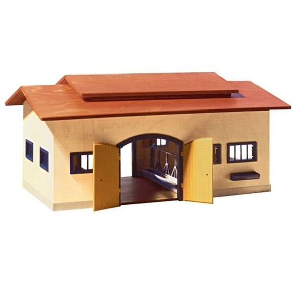 Schleich Wooden Farm Stable-40165-Animal Kingdoms Toy Store