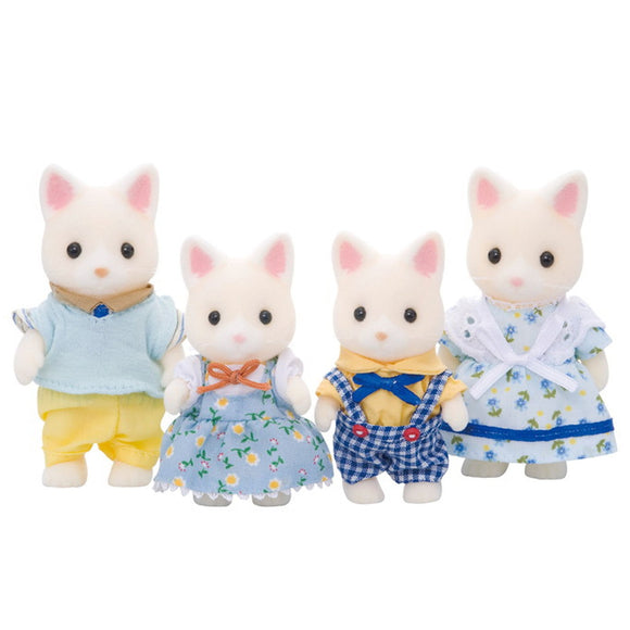 Sylvanian Families Silk Cat Family-4175-Animal Kingdoms Toy Store