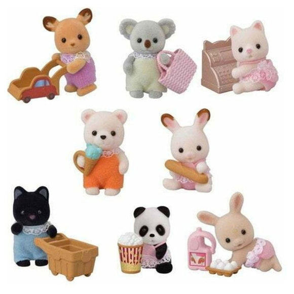 Sylvanian Families Baby Shopping Series-5382-Animal Kingdoms Toy Store