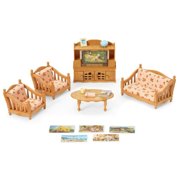 Sylvanian Families Comfy Living Room Set-5339-Animal Kingdoms Toy Store