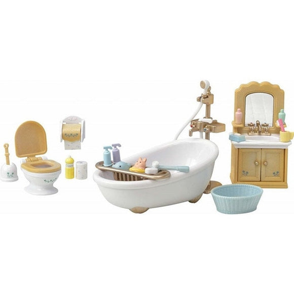 Sylvanian Families Country Bathroom Set-5286-Animal Kingdoms Toy Store