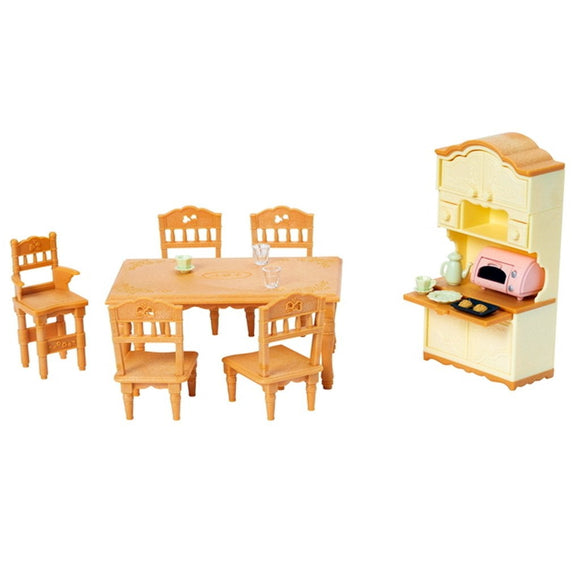 Sylvanian Families Dining room set-5340-Animal Kingdoms Toy Store