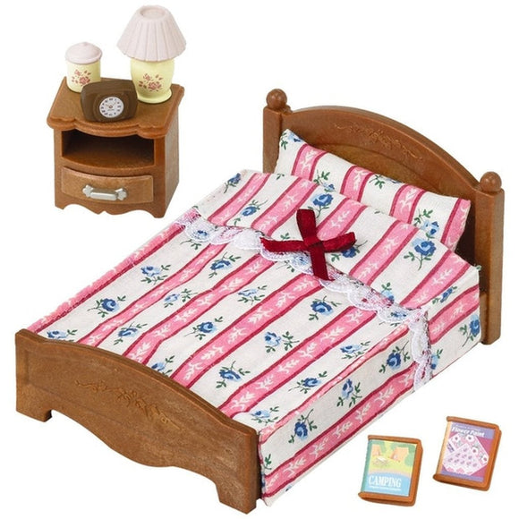 Sylvanian Families Semi-Double Bed - AnimalKingdoms.co.nz