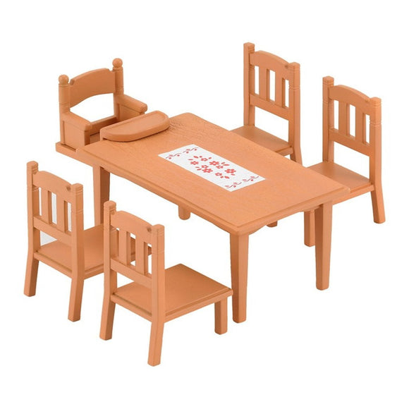 Sylvanian Families Family Table & Chairs - AnimalKingdoms.co.nz