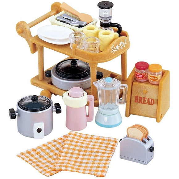 Sylvanian Families Kitchen Cookware Set - AnimalKingdoms.co.nz