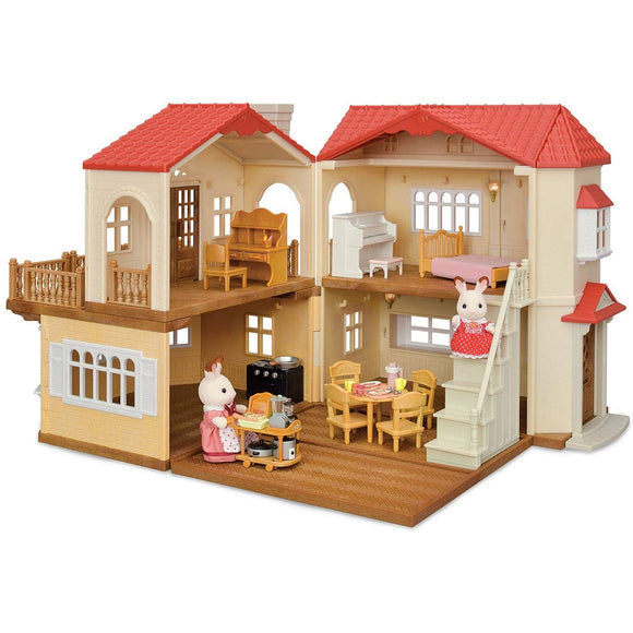 Sylvanian Families Red Roof Country Home-5302-Animal Kingdoms Toy Store