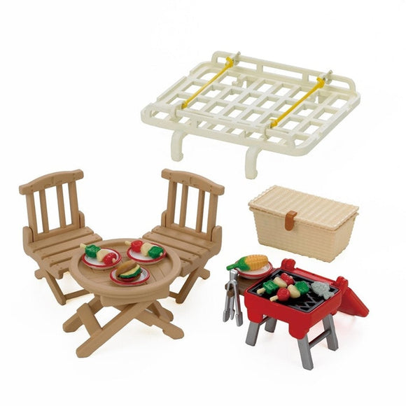 Sylvanian Families Roof Rack With Picnic Set-5048-Animal Kingdoms Toy Store
