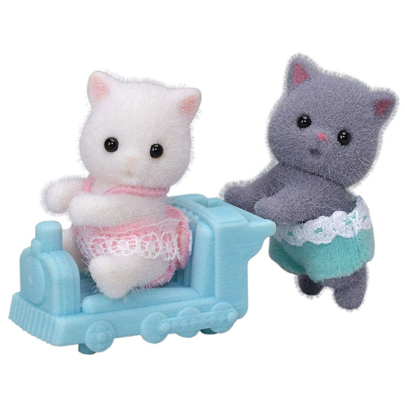 Sylvanian Families Persian Cat Twins-5457-Animal Kingdoms Toy Store