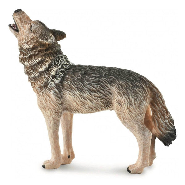 CollectA Timber Wolf Howling-88844-Animal Kingdoms Toy Store