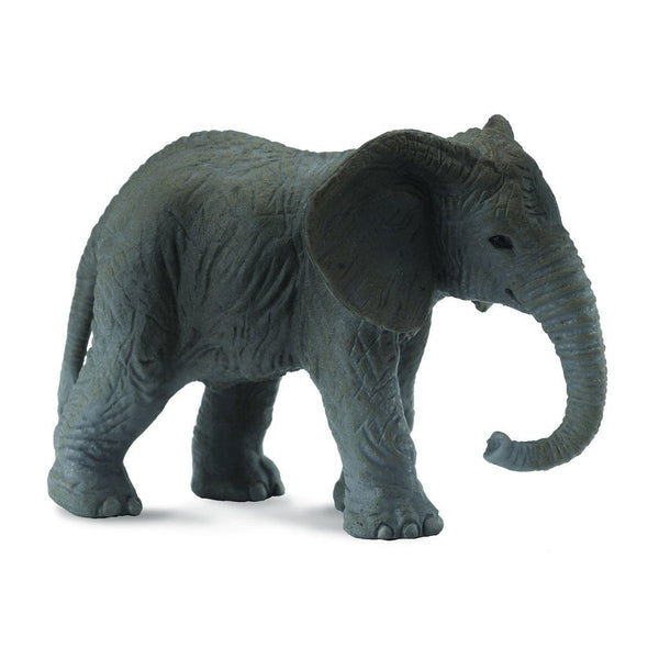 CollectA African Elephant Calf-88026-Animal Kingdoms Toy Store