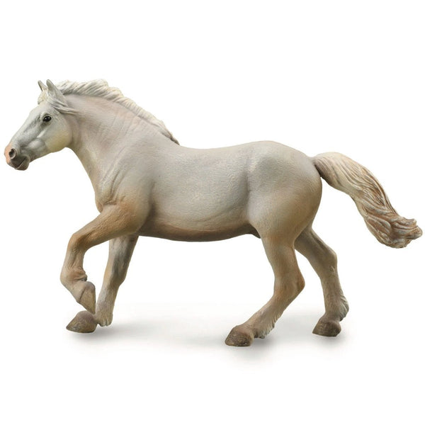 CollectA American Cream Draft Stallion-88846-Animal Kingdoms Toy Store