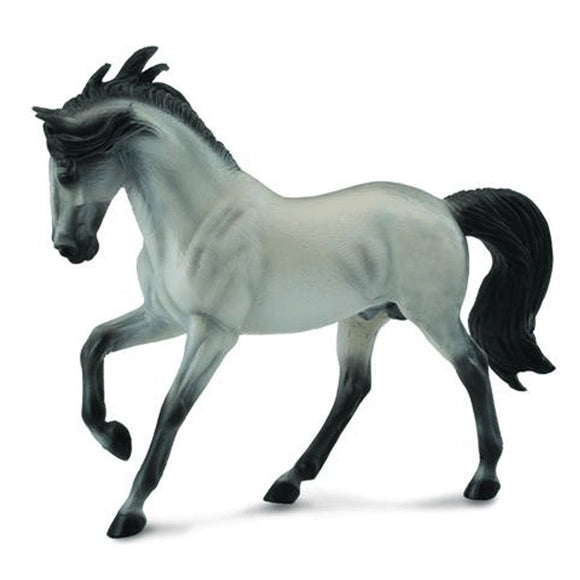CollectA Andalusian Stallion Grey - Horses - AnimalKingdoms.co.nz