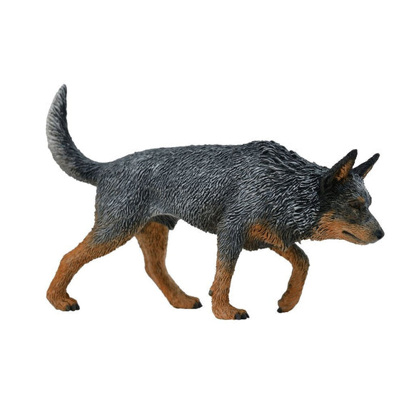 CollectA Australian Cattle Dog Blue Heeler-88672-Animal Kingdoms Toy Store