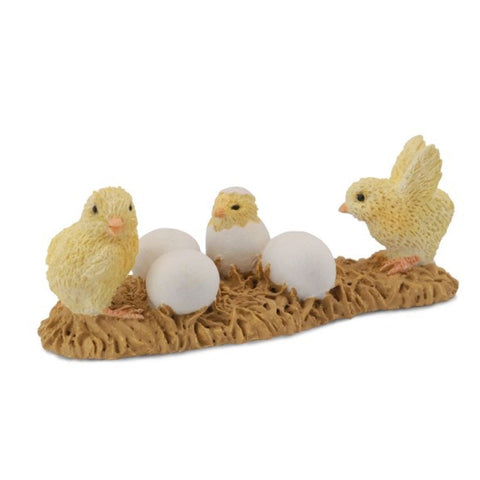 CollectA Baby Chicks Hatching - Farm Life - AnimalKingdoms.co.nz