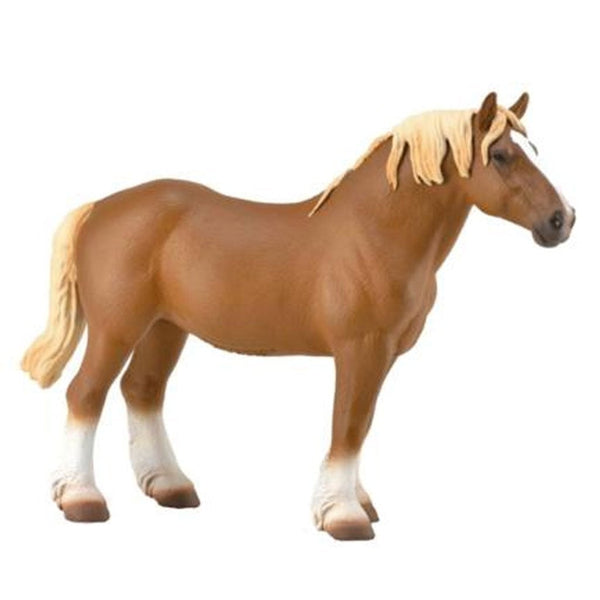 CollectA Belgian Mare Chestnut 2018 - AnimalKingdoms.co.nz