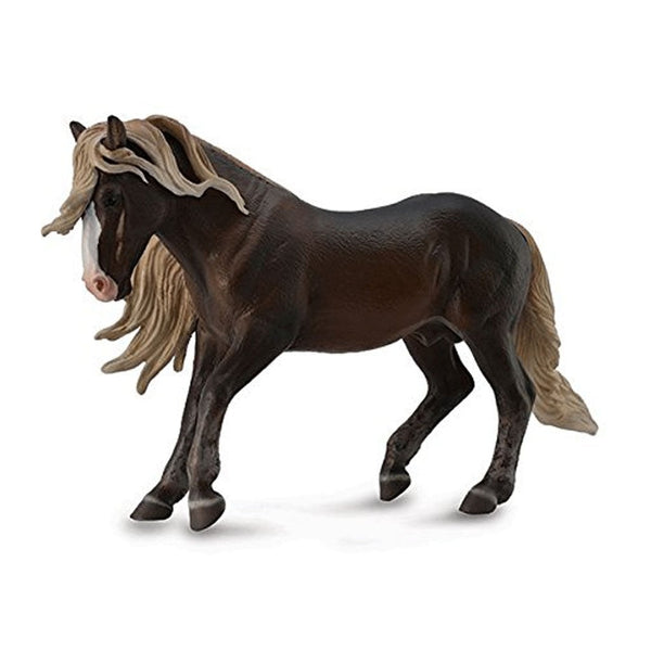 CollectA Black Forest Horse Stallion-88769-Animal Kingdoms Toy Store