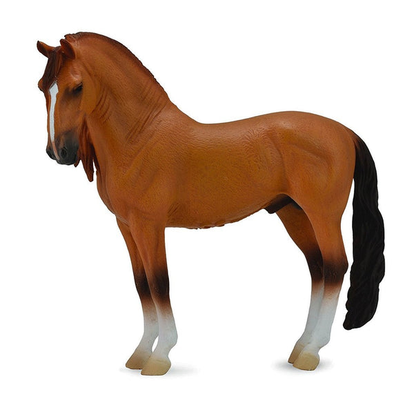 CollectA Campolina Stallion Red Dun-88701-Animal Kingdoms Toy Store