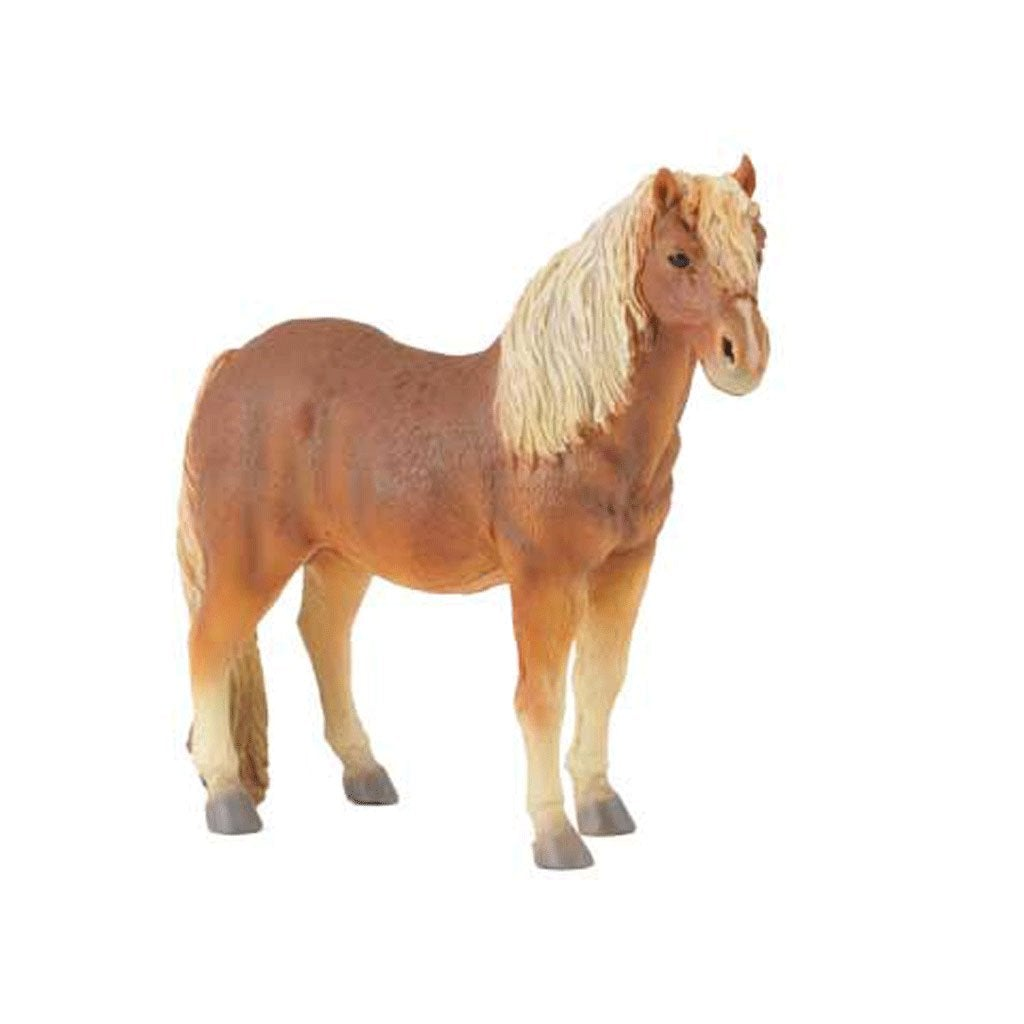 CollectA Dartmoor Pony Chestnut - Horses - AnimalKingdoms.co.nz