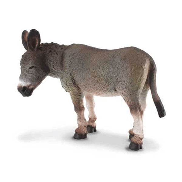 CollectA Donkey Grey-88115-Animal Kingdoms Toy Store