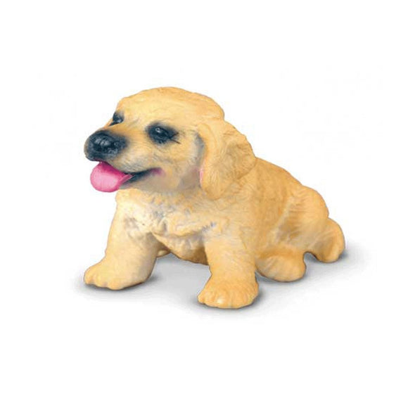 CollectA Golden Retriever Puppy-88117-Animal Kingdoms Toy Store
