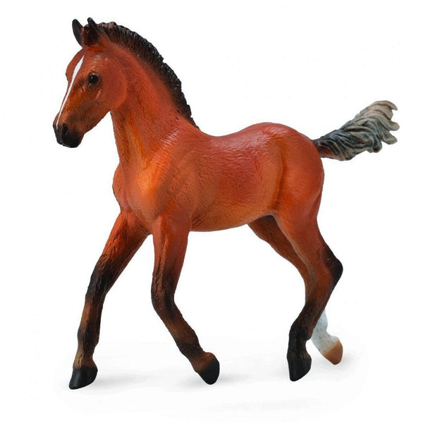 CollectA Hanoverian Foal Bay-88734-Animal Kingdoms Toy Store