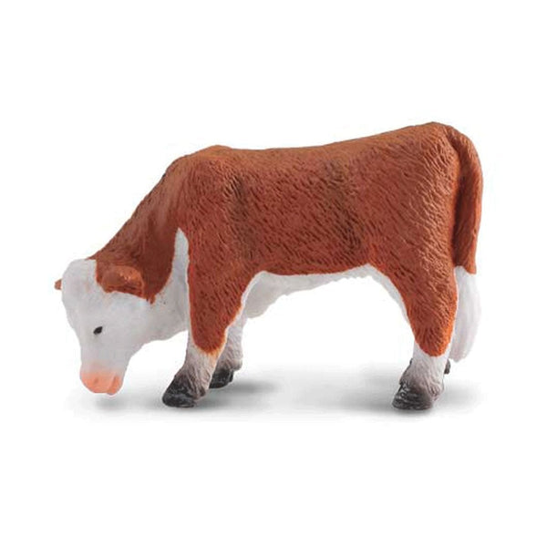 CollectA Hereford Calf Grazing-88242-Animal Kingdoms Toy Store