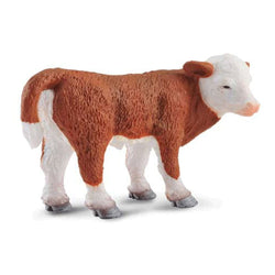 CollectA Hereford Calf Standing - Farm Life - AnimalKingdoms.co.nz