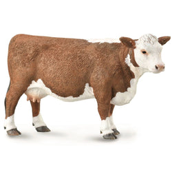 CollectA Hereford Cow 2019 - Farm Life - AnimalKingdoms.co.nz