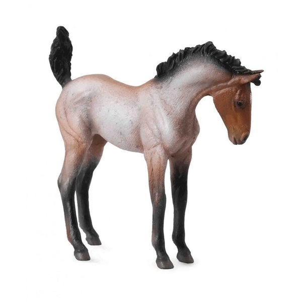 CollectA Mustang Foal Bay Roan-88545-Animal Kingdoms Toy Store