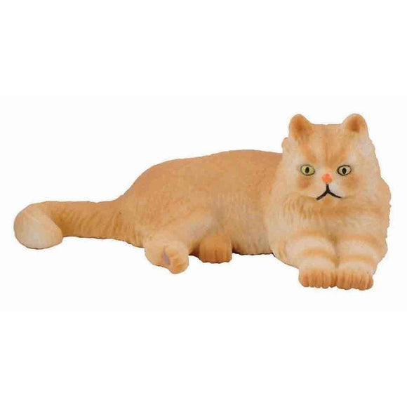CollectA Persian Cat Lying - Cats and Dogs - AnimalKingdoms.co.nz