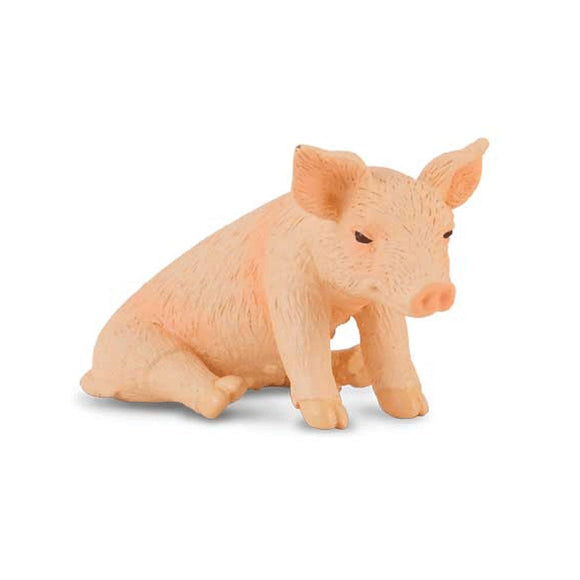 CollectA Piglet Sitting-88345-Animal Kingdoms Toy Store