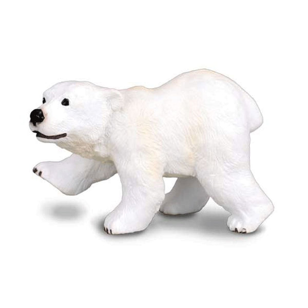 CollectA Polar Bear Cub Standing-88215-Animal Kingdoms Toy Store