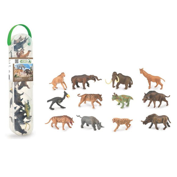CollectA Mini Prehistoric Mammals Tube 12 pieces-89A1100-Animal Kingdoms Toy Store