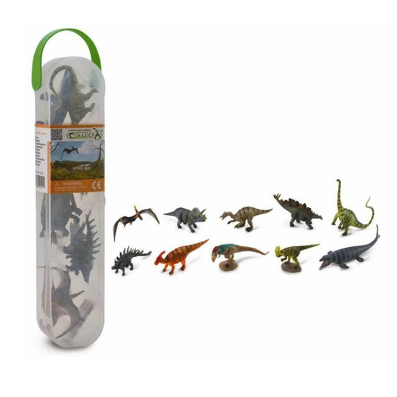 CollectA Mini Prehistoric Tube 10 Piece (A)-89A1101-Animal Kingdoms Toy Store