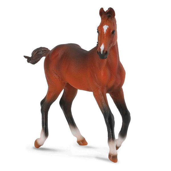 CollectA Quarter Horse Foal Sorrel-88587-Animal Kingdoms Toy Store