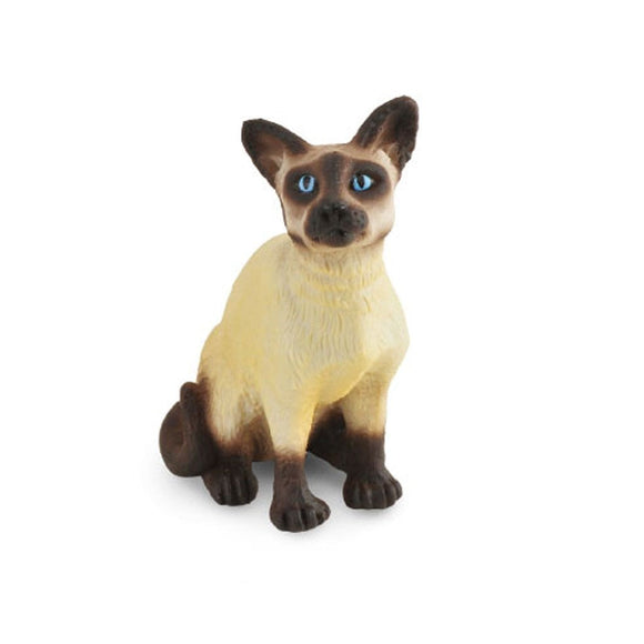 CollectA Siamese Cat Sitting - Cats and Dogs - AnimalKingdoms.co.nz