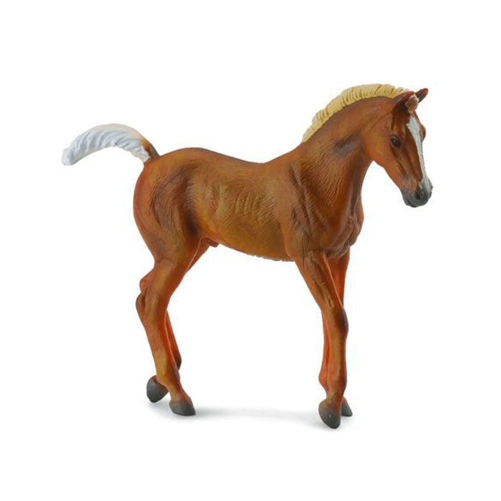 CollectA Tennessee Walking Foal Chestnut - AnimalKingdoms.co.nz