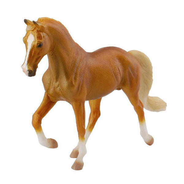 CollectA Tennessee Walking Stallion Golden Palomino-88449-Animal Kingdoms Toy Store